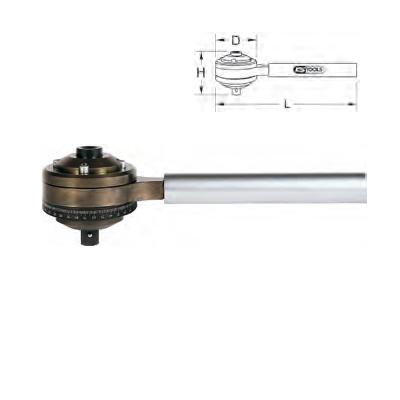 "1/2"" TORQUE MULTIPLIER 6:1, 1680 NM"