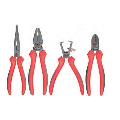 ULTIMATE + PLIERS SET, 4PCS, 160-180MM