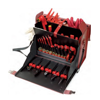 PROFI ELECTRICIANS TOOL SET, 53PCS