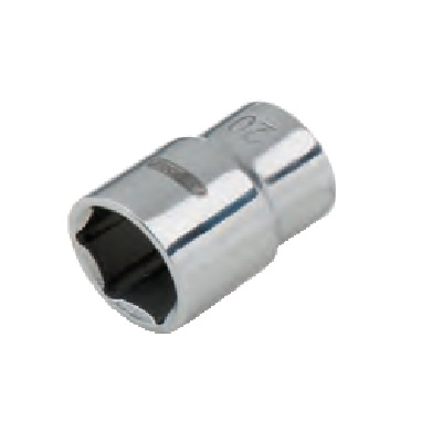 "STAINLESS HEX SOCKET, 1/2"", 8MM"