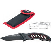 Folding knife with detent
