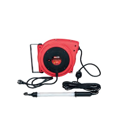 BASIC WORKSHOP INSPECTION LIGHT, 8 WATT WITH CABLE REEL